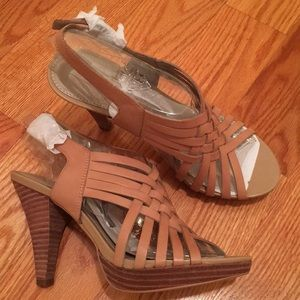 Brand New Franco Sarto Strappy Open-toed Shoes